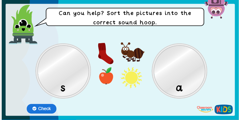 Phase 2 Phonics Game 1