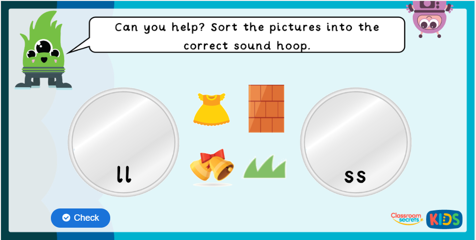 Phonics Phase 2 Activities