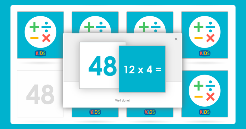 Year 3 Mixed Multiplication Memory Card Game