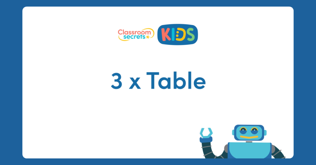 3 x table video