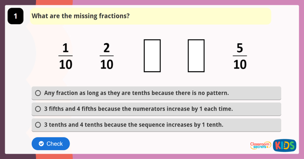 Year 3 Reasoning Test Practice 3