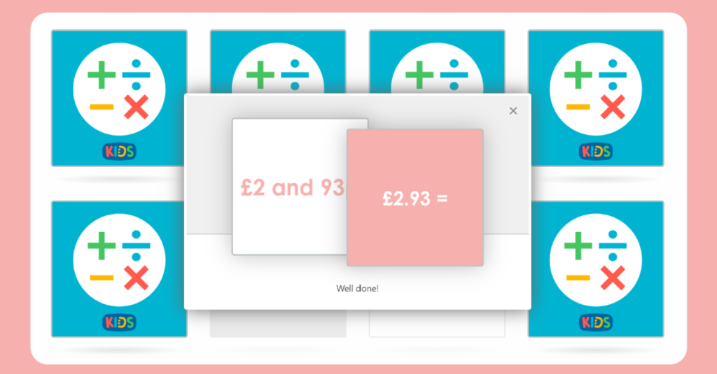 Year 4 Money Conversion Matching Cards