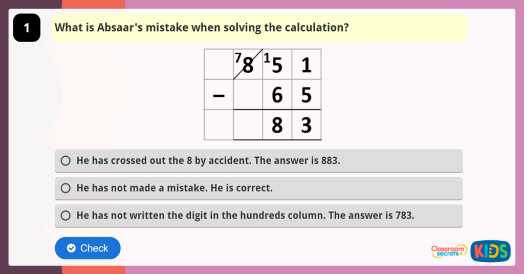 Year 4 Reasoning Test Practice 5