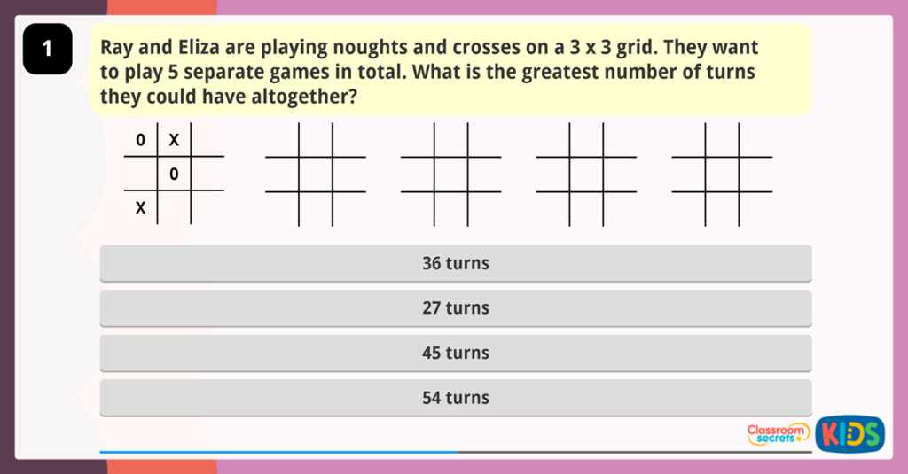 Year 4 Word Problems Place Value 1