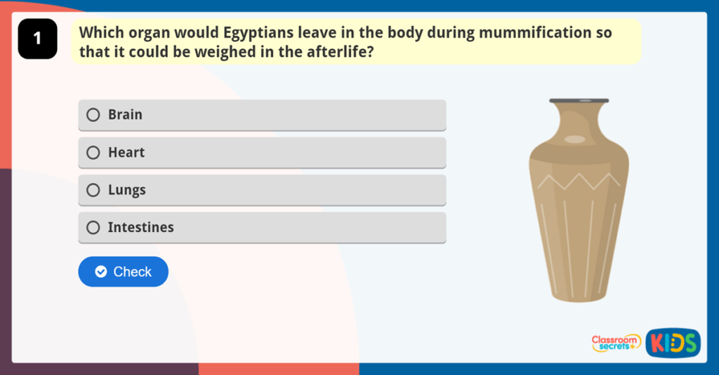 Year 5 Ancient Egypt Quiz
