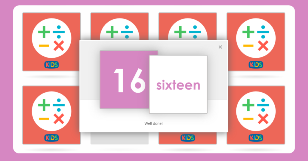 Year 1 Numbers to 20 Matching Game