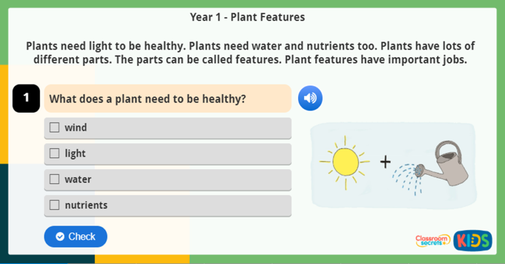 Year 1 Science Online Resources