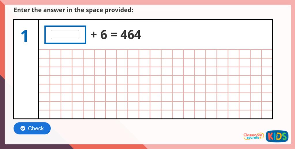 Year 5 Arithmetic Test Practice 1