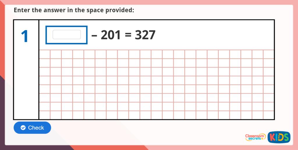 Year 6 Arithmetic Test Practice 17
