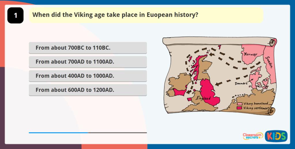 Vikings Online Quizzes
