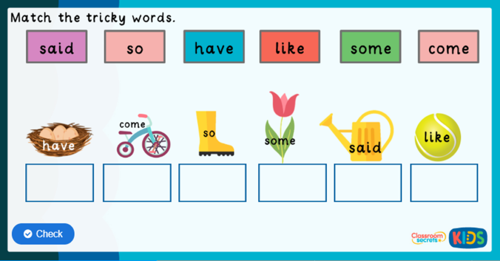 Phonics Phase 4 Online Games
