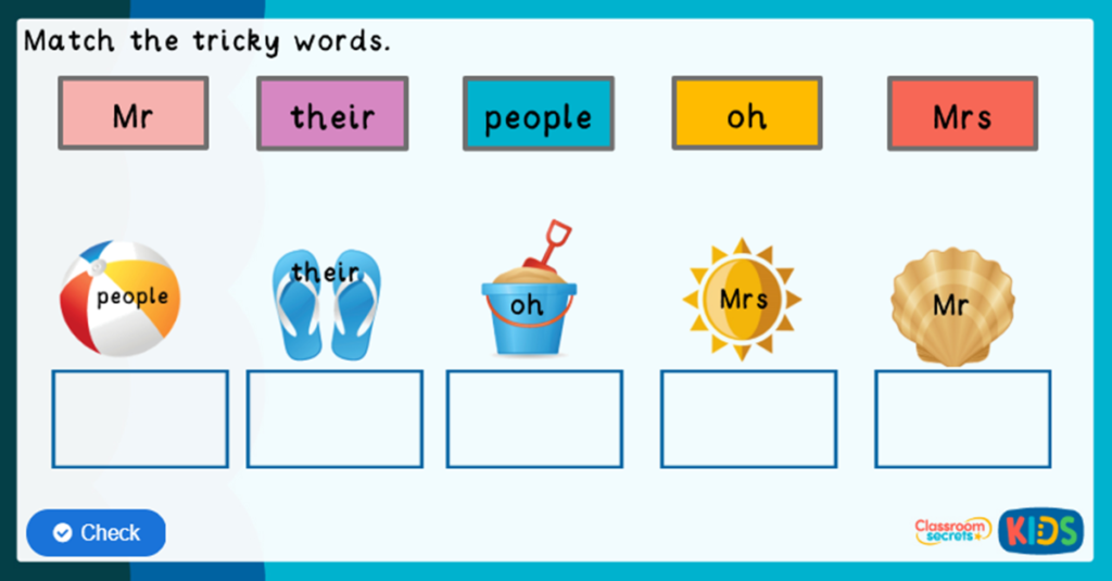 Phonics Phase 5 Online Games