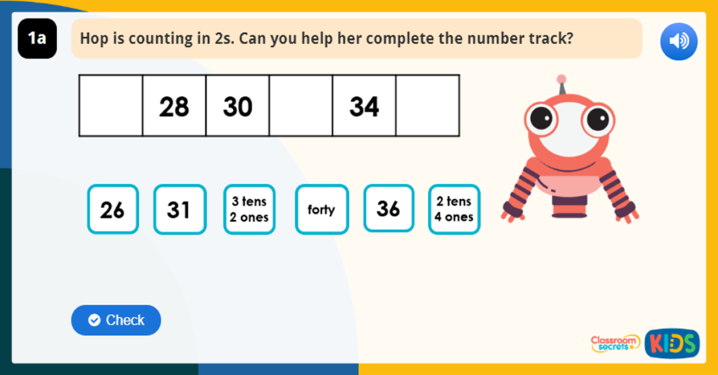 Year 1 Count in 2s