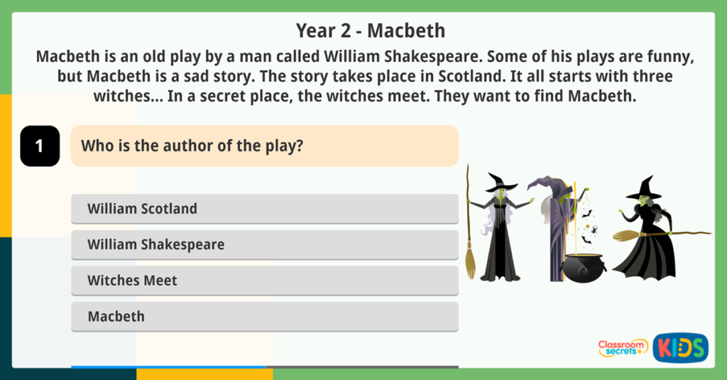Year 2 Online Reading Games