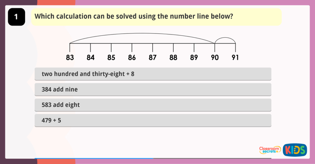 Add 3-Digit and 1-Digit Numbers Game