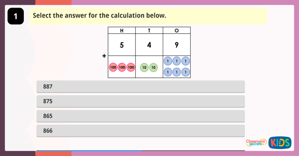 Add Two 3-Digit Numbers Game