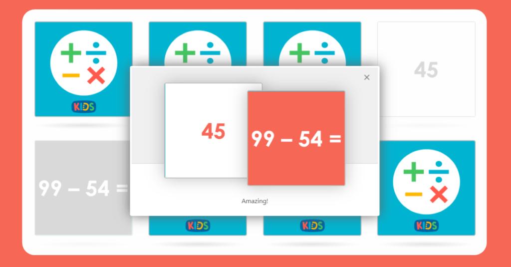 Year 3 Mental Maths Matching Activity