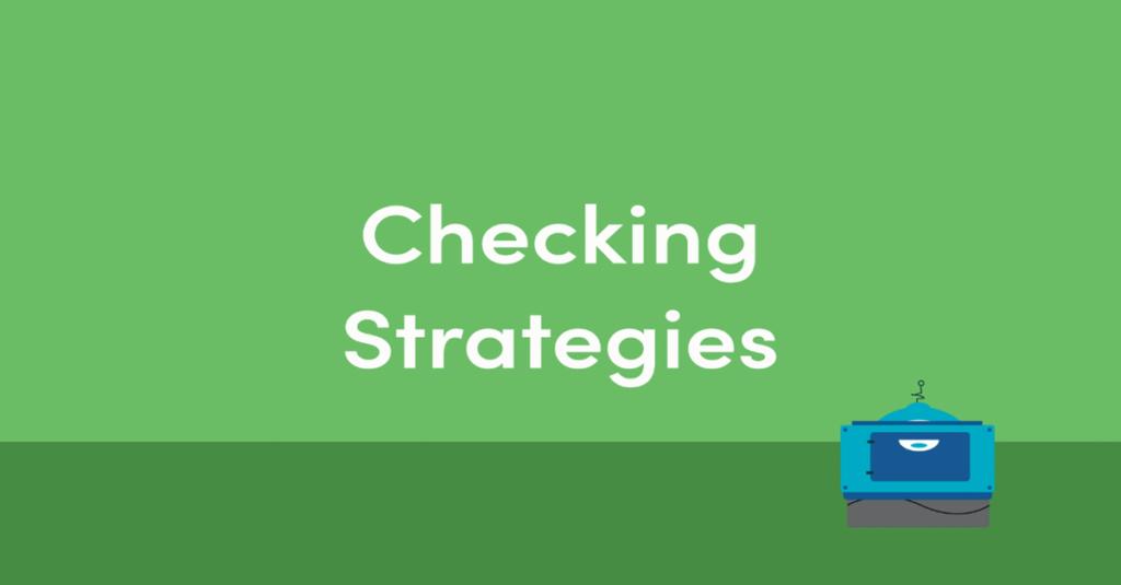 Year 4 Checking Strategies