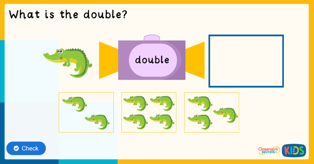 Reception Doubling Game
