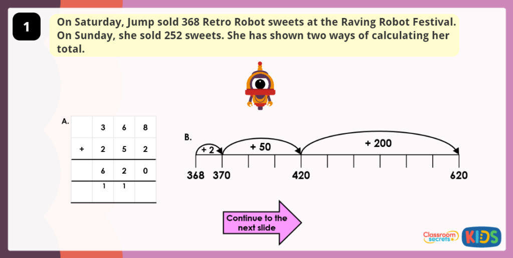 Year 3 Efficient Addition and Subtraction Methods