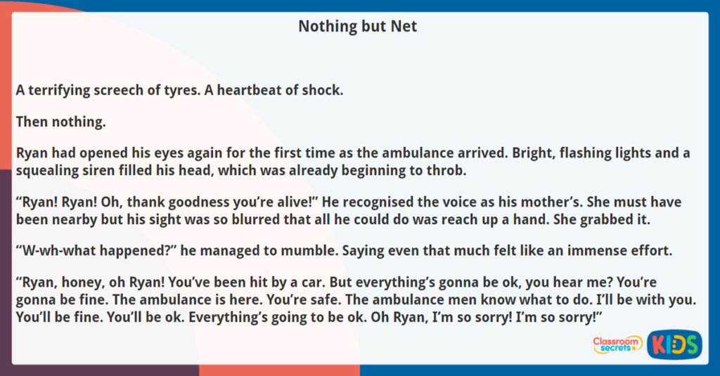 Year 5 Reading Comprehension Nothing but Net