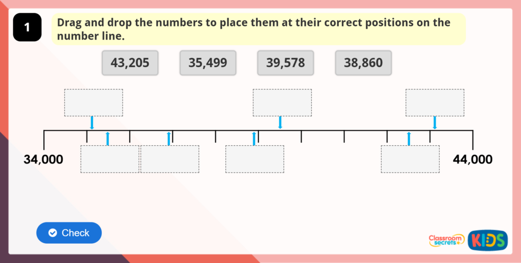 Year 5 Compare and Order Numbers to 100000
