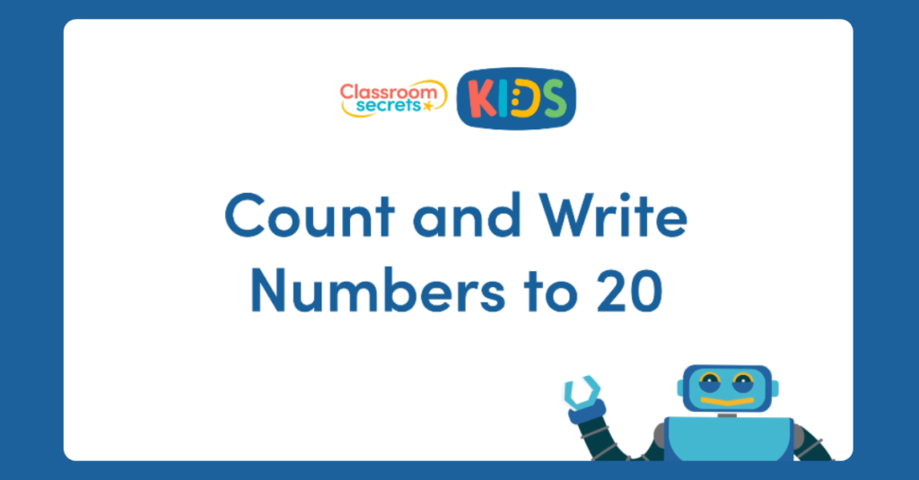 Count and Write Numbers to 20