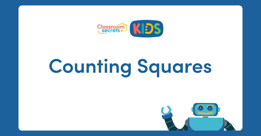 Year 4 Counting Squares Video