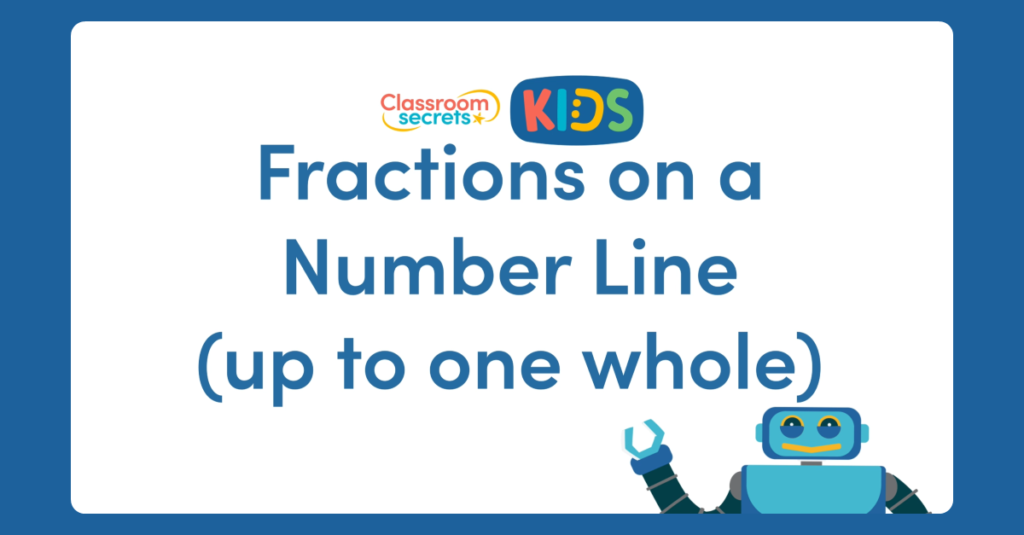 Year 3 Fractions on a Number Line Video