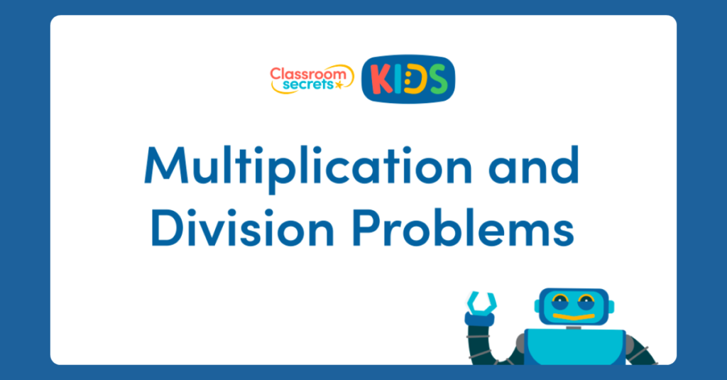 Year 3 Multiplication and Division Problems
