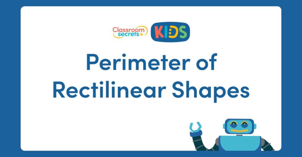 Year 4 Perimeter of Rectilinear Shapes Video