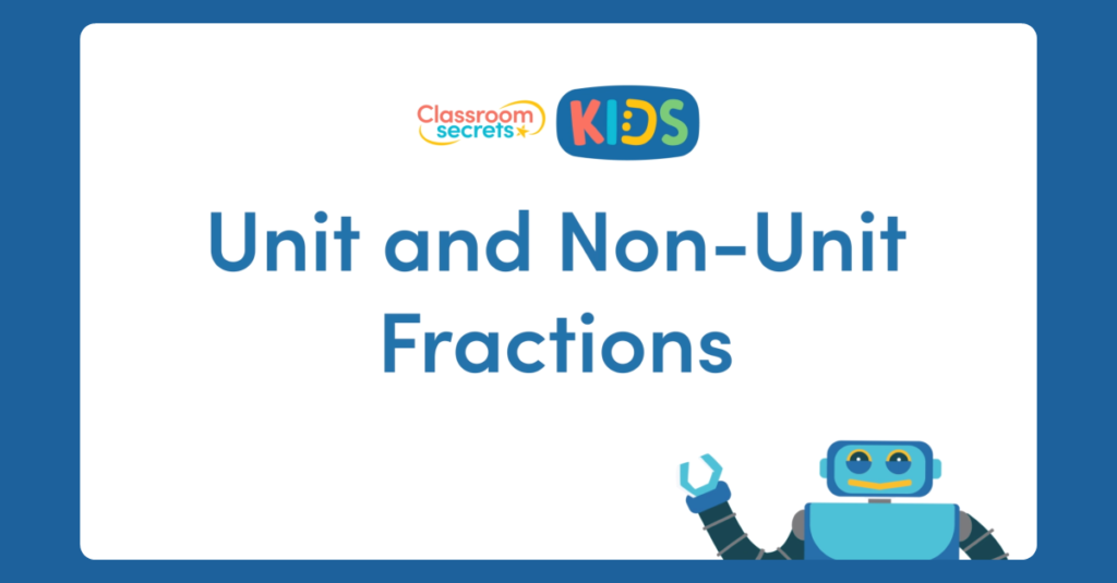 Year 3 Unit and Non-Unit Fractions Activity
