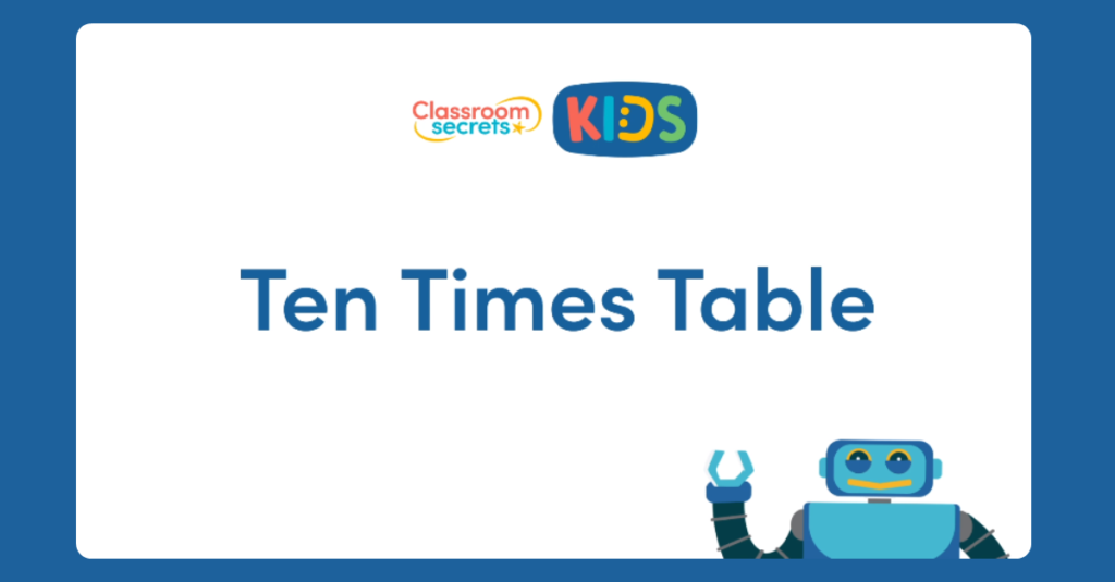 10 Times Table