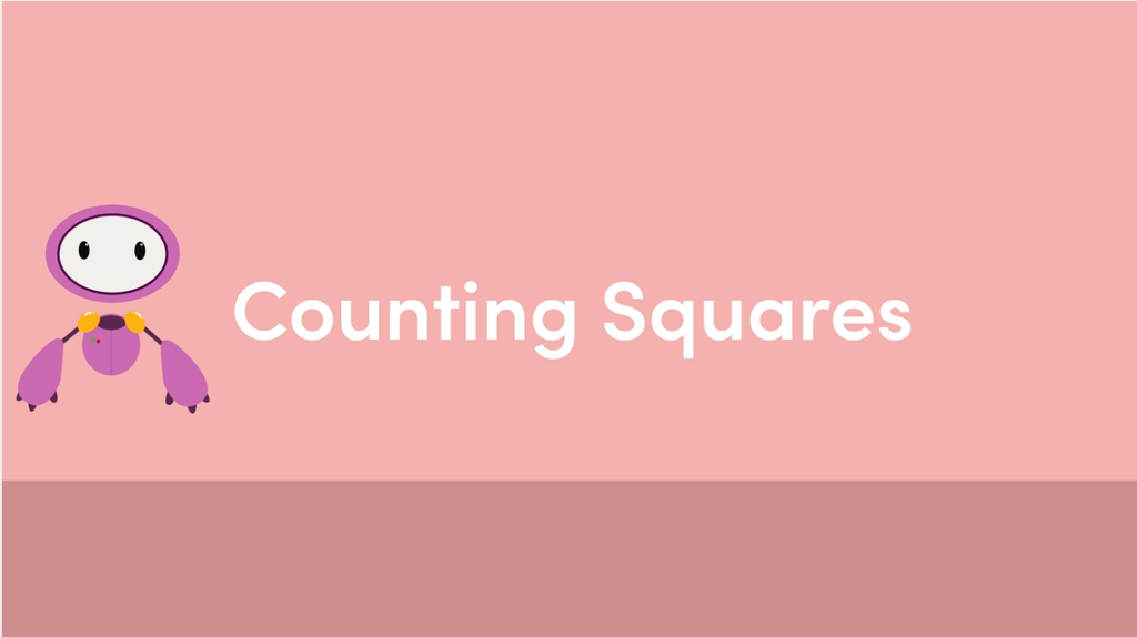 Year 4 Counting Squares Animation