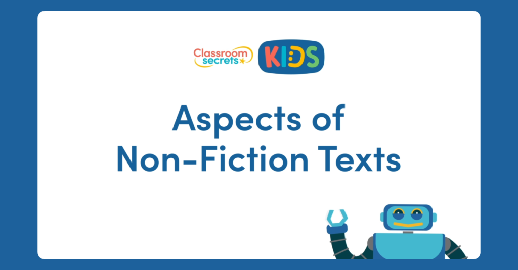 Reading Non-Fiction Texts