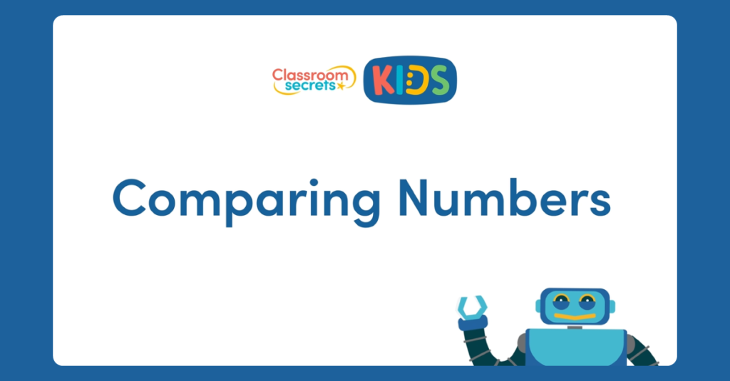 Year 1 Comparing Numbers Video