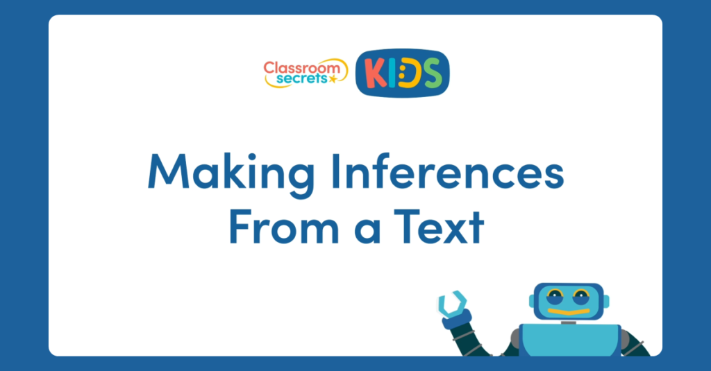 Making Inferences From a Text Video