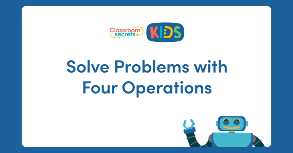 Year 6 Problem Solving Video