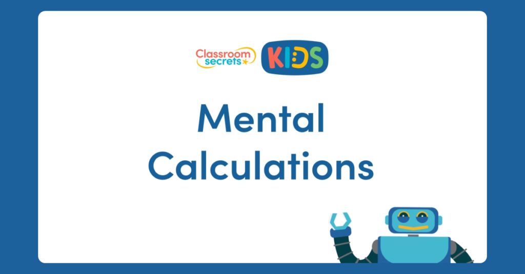 Year 6 Mental Calculations Video