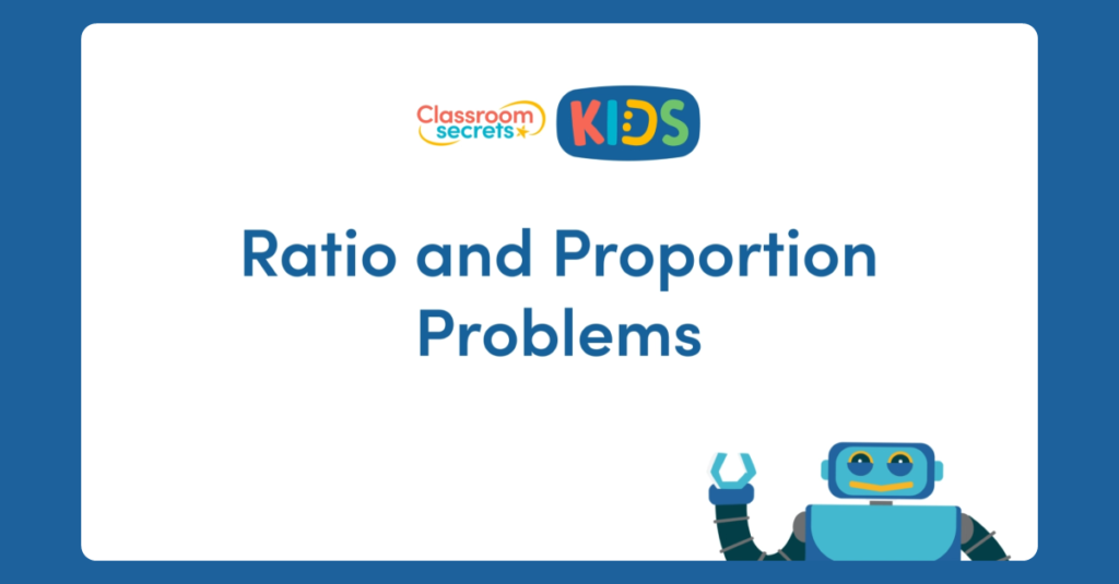 Ratio and Proportion Problems Video
