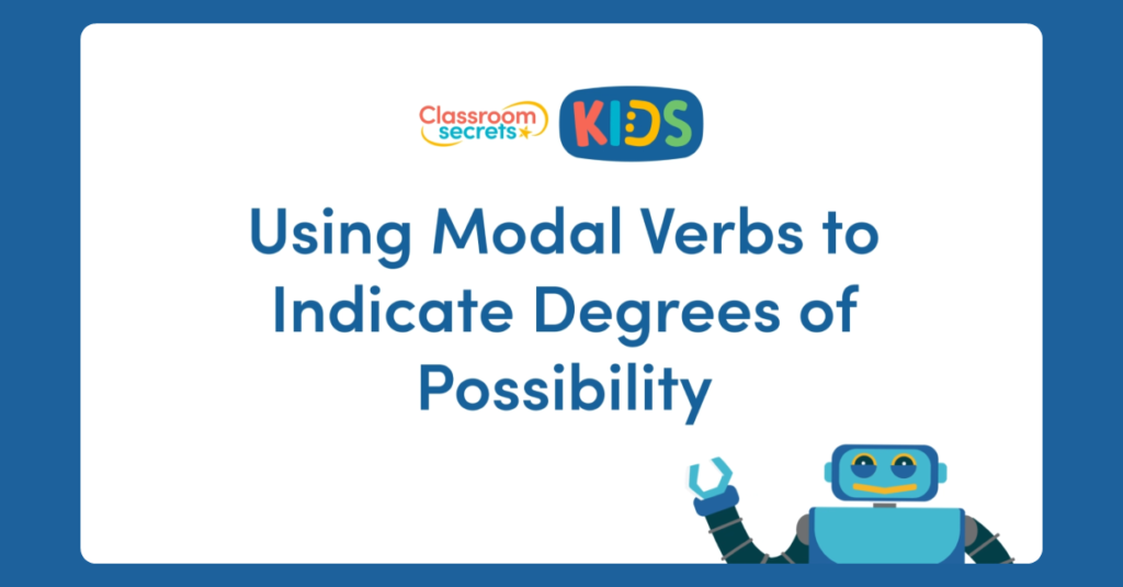 Modal Verbs to Indicate Degrees of Possibilty Video