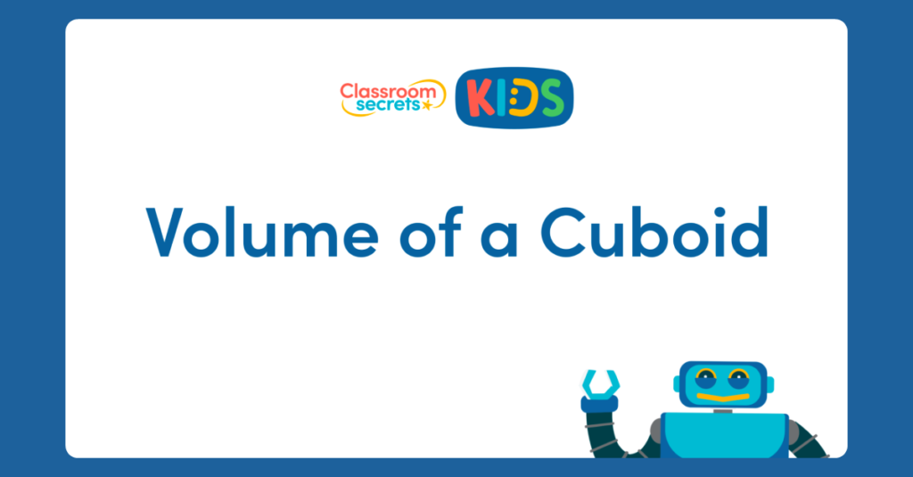 Volume of a Cuboid Video