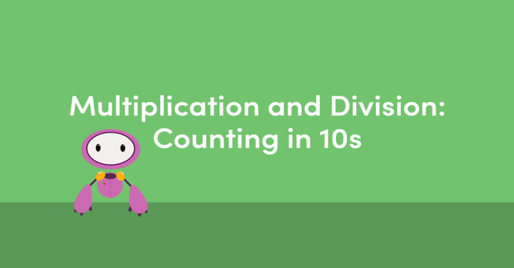 Counting in 10s Interactive Animation
