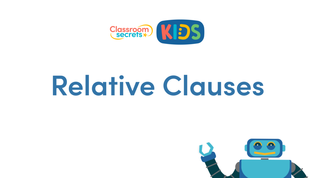 Year 6 Relative Clauses Video