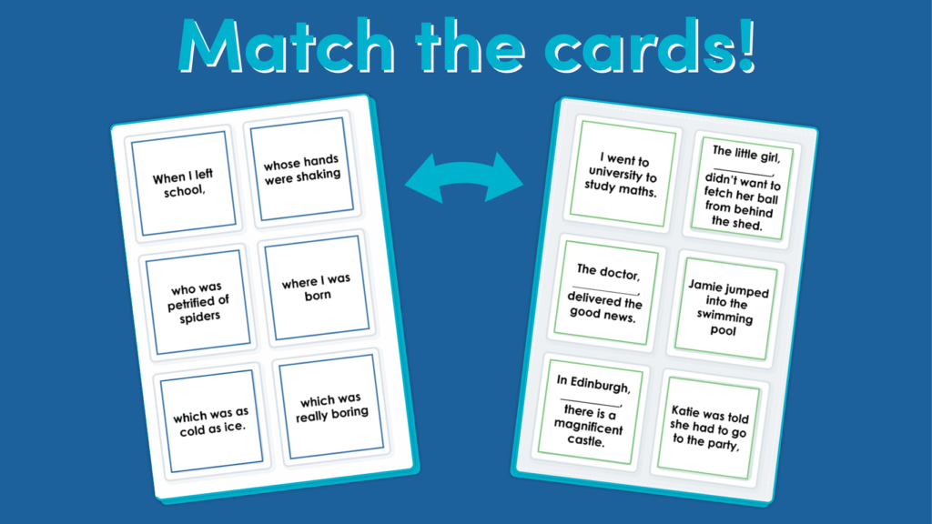Year 5 Relative Clauses Resource