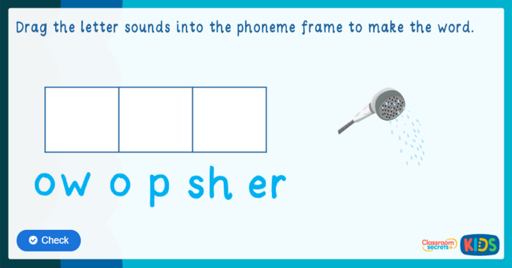 EYFS Phase 3 Phonics Game
