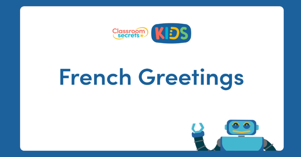 French Greetings Video Tutorial