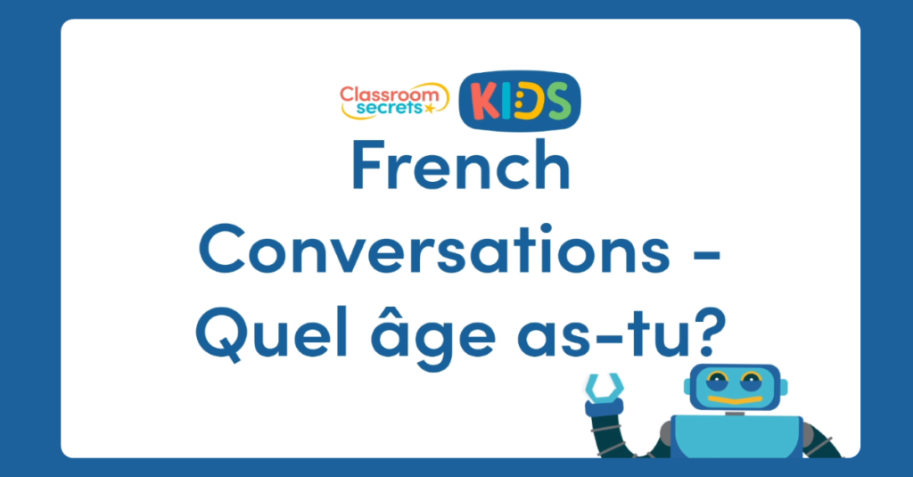 Quel âge as-tu? French Conversations Video Tutorial