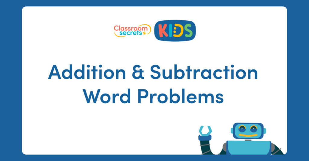 Year 2 addition and Subtraction Word Problems Video