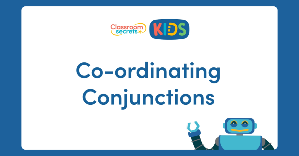Year 2 Co-ordinating Conjunctions Video